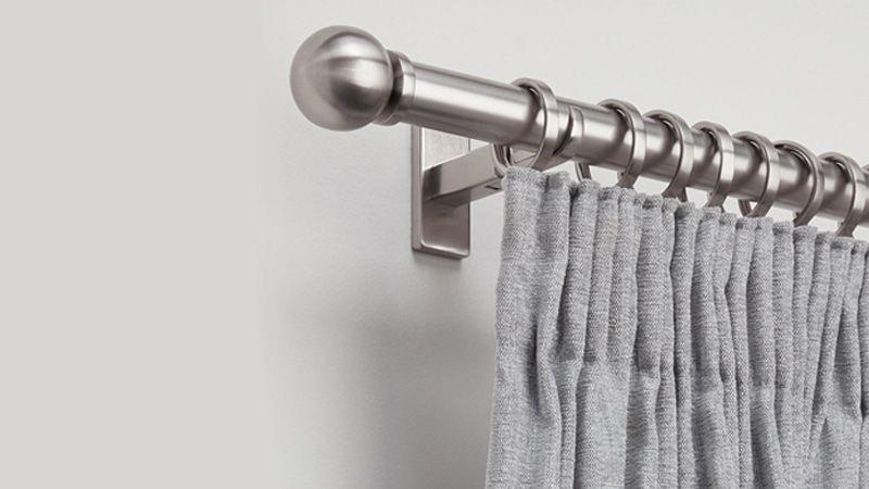 curtain poles rails curtain