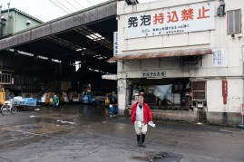 Tsukiji - the day's work is done