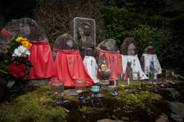 Saisho-in Temple - outdoor shrine
