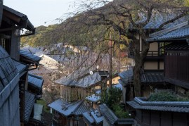 Gion roofscape