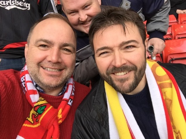 Experiencing the Liverpool Brand Experience in the Kop End