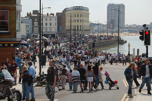 A busy Bank Holiday in Margate