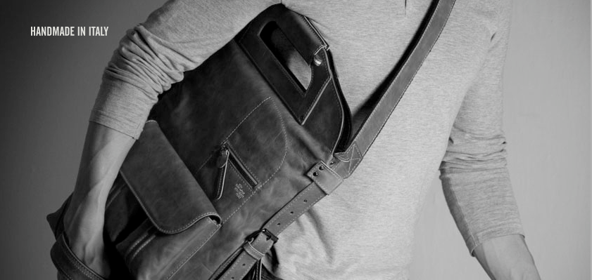 The beautiful hand made Hard Graft bag