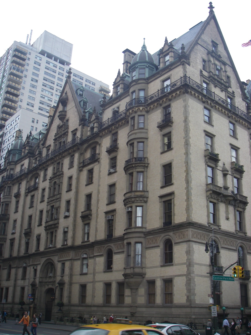 The Dakota, Home to lots of famous people and the place where John Lennon was killed in 1980
