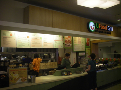 UFood Grill - Home to the Unfries and grilled chicken Bruschetta