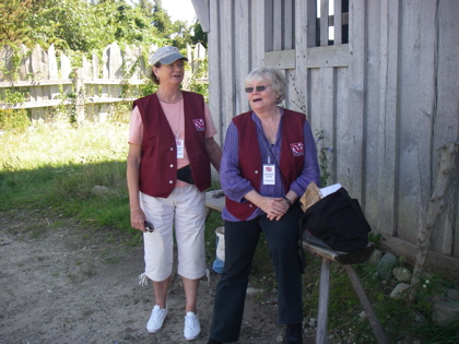 Volunteers form an important part of the staffing at Plimouth Plantation