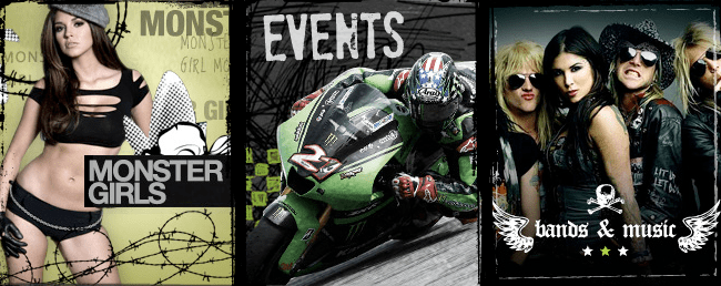 Monster Energy - Who sponsor events and behave in a way that is perhaps even less subtle than Red Bull