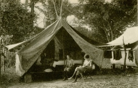 IC with Ruth Rose British Guiana about 1922