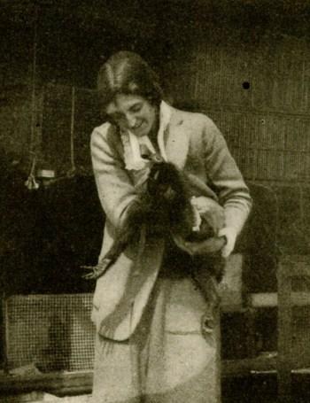 Isabel Cooper with Sinbad