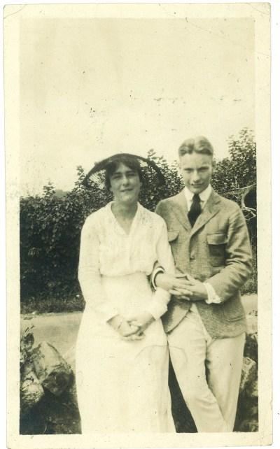 Roberta Becker and Redmond Farrar 1915
