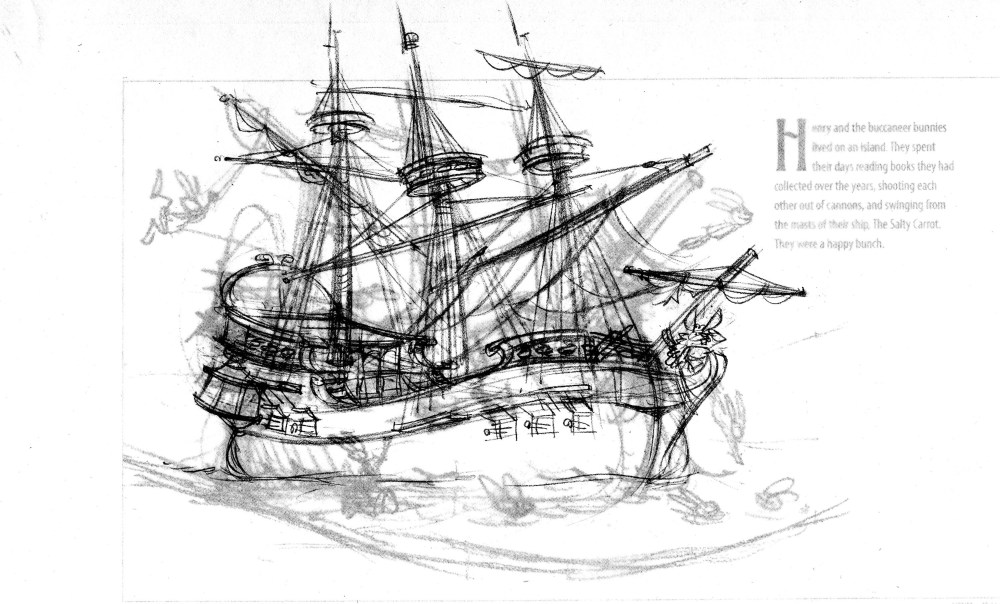 More Henry sketches (2/3)