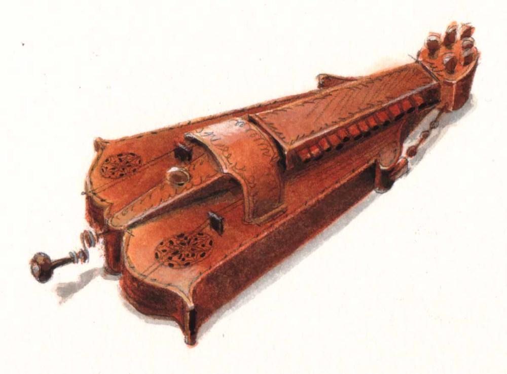 Renaissance & Baroque musical instruments (2/5)