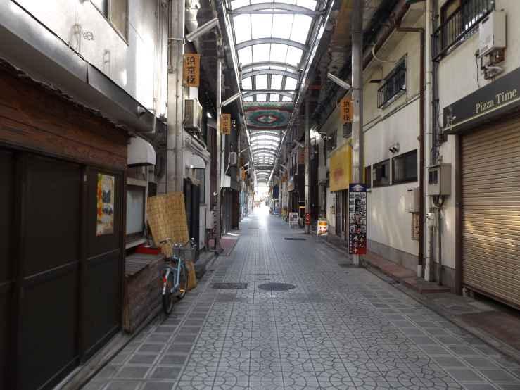shopping arcade photo