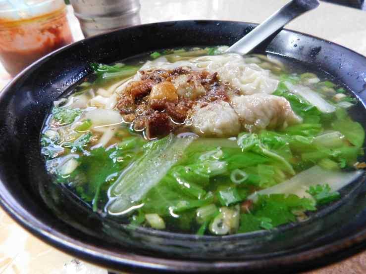 wonton noodles photo