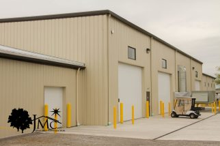 Commercial Garage Doors with Windows in Nappanee, Indiana