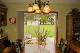 Dining Room Table and Doors in Nappanee, Indiana