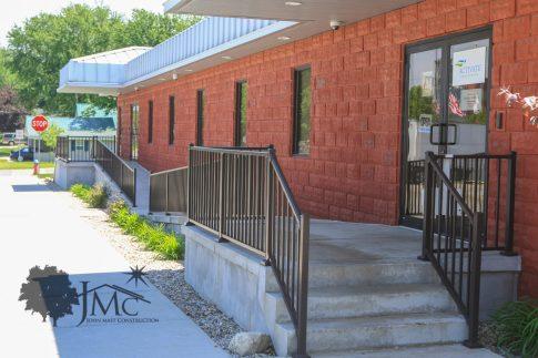 Entrance to Medical Building in Bremen, Indiana
