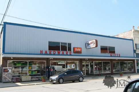 Old Hardware Store in Bremen Indiana