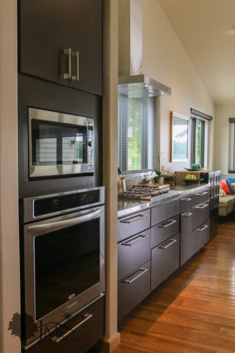 Modern Stainless Kitchen in Goshen, Indiana
