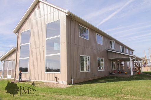 Large exterior windows in Mishawaka, Indiana