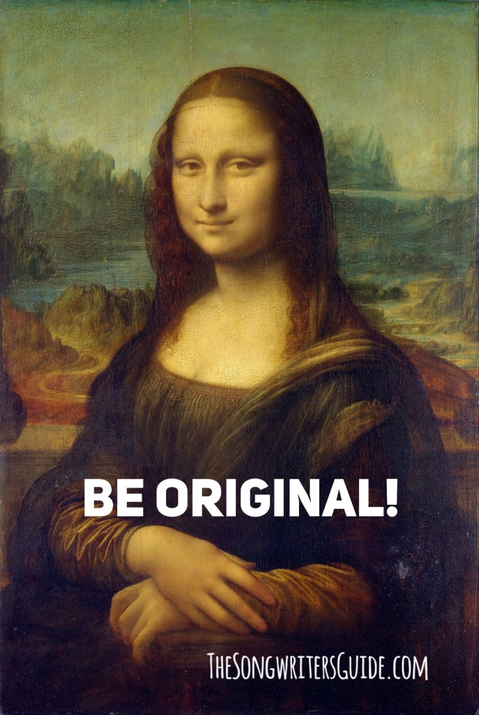 Be original, be you, songwriters, southern gospel, songwriting tips, music tips, music advice, original artists