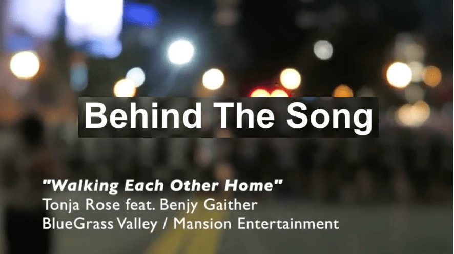 Behind The Song, Samaritan's Purse, Bluegrass Music, Country Music, Random acts of kindness, The Good Samaritan, Do Unto Others, The Golden Rule, Walking Each Other Home