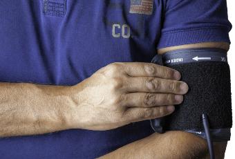 SQL Server Health Check - Man getting his blood pressure taken
