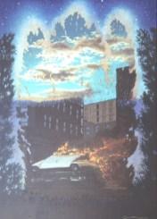 Ember - Acrylic/masonite - 27 x 39 inches
