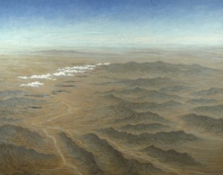 Airscape – Acrylic/canvas – 32 x 40 inches