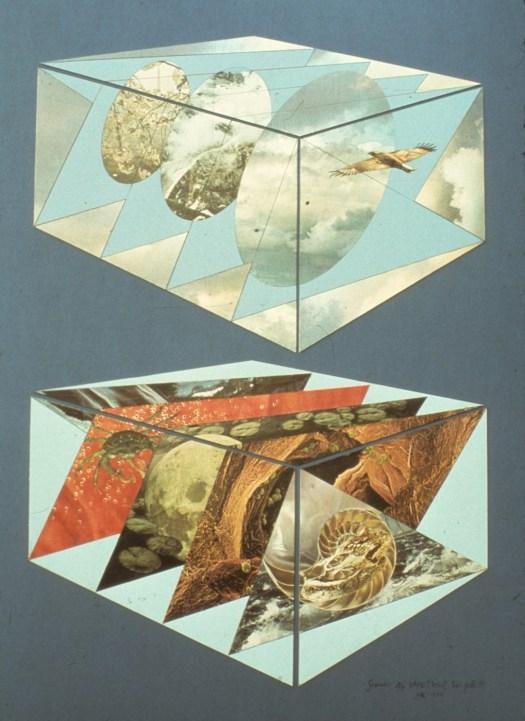 Gemini - Collage - 30 x 40 inches