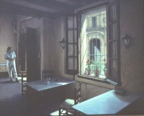 El Invitado - Oil/canvas - 36 x 48 inches