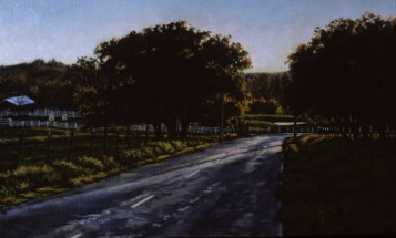 Lime Kiln Road - Oil/canvas - 13 x 21 inches