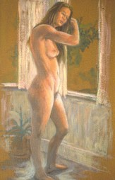 Mondy 2 - Oil/canvas - 13 x 21 inches