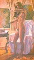 Mondy 3 - Oil/canvas - 13 x 21 inches