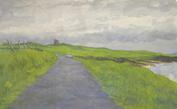 Road to Drumcliff - Watercolor - 12 x 20 inches