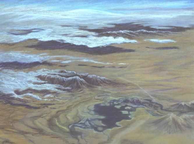 Western Landscape – Pastel – 18 x 24 inches
