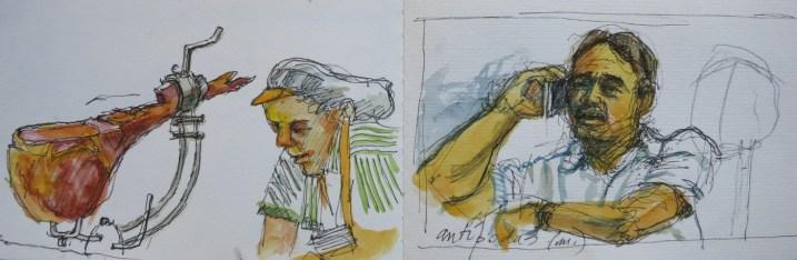 Sketchbook, Valencia - Watercolor - 3 x 12 inches