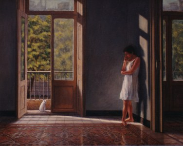 La Bailarina, Ruth - Oil/canvas - 32 x 40 inches