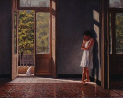 La Bailarina, Ruth - Oil/canvas - 32 x 40 inches