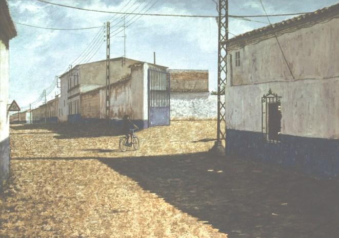 Puerto Lápice - Watercolor - 21 x 29 inches