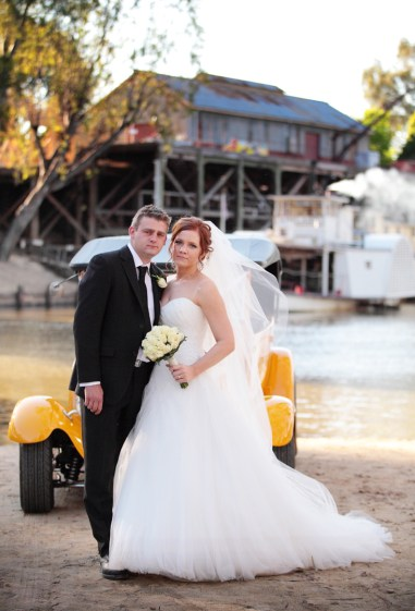 Sophie and Anthony in Echuca
