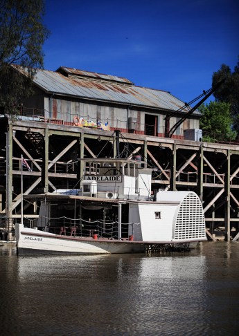 The Adelaide Paddle Steamer