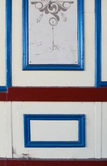 Panels in blue