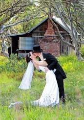 Wedding photos at Dinner Plain