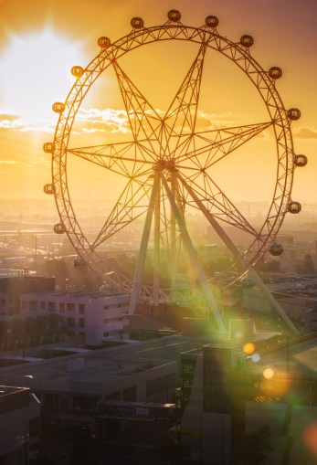 Melbourne Star sunset
