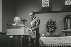 Wedding at St Patricks Church Wangaratta