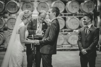 Brown-Brothers-Barrel-Room Wedding