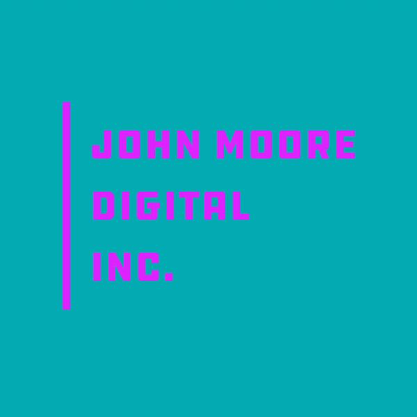 John Moore Digital Inc. Logo Variation