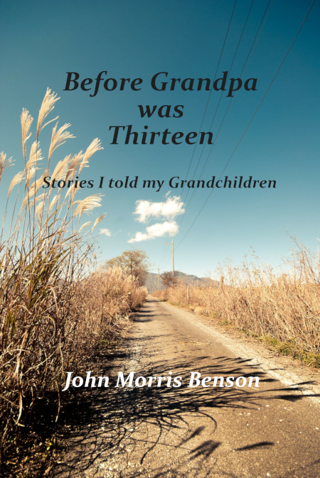 Before Grandpa was Thirteen cover