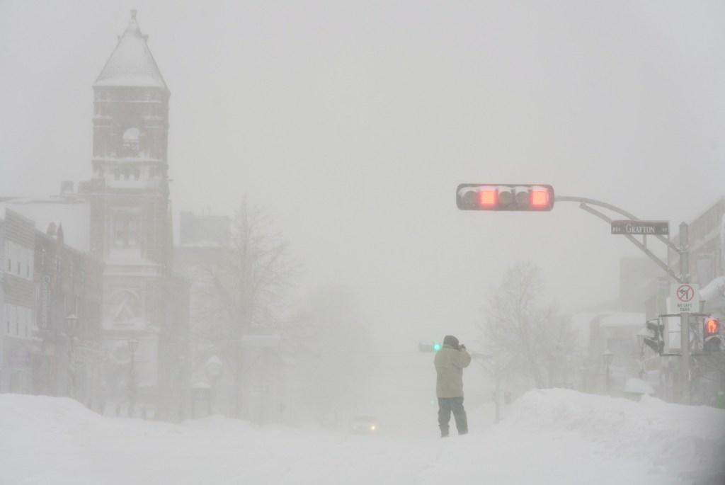 Atlantic Canada Snowstorm